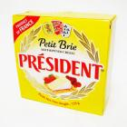 Queso Petit Brie. Soft Ripened Cheese, 125 g - PRÉSIDENT