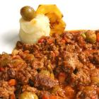 Picadillo de filete de res